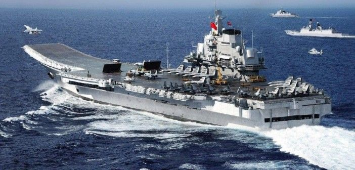 """In a potentially stunning development, the Al-Masdar Al-'Arabi, (AKA) The Arab Source, is reporting that a Chinese warship recently passed through the Suez Canal three days ago,  and is headed to Syria to assist the Russians military fight against ISIS. The news source refers to ISIS as """"US proxies trying to overthrow the al-Assad government"""". China-CV-16-Liaoning-aircraft-carrier"""