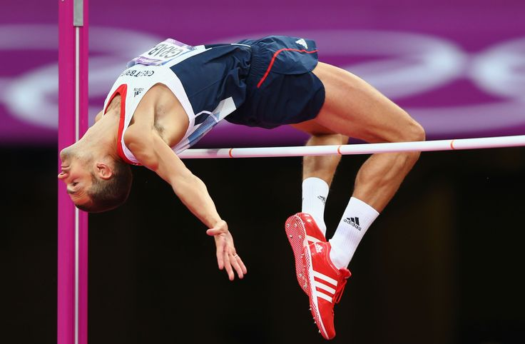 Robbie Grabarz winning bronze in the high jump at London 2012