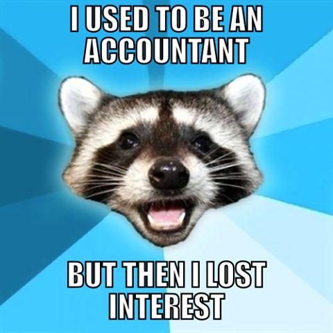 Ha. Haha. Interest...Get it???? Lol I'm such a nerd...gotta love Accounting humor...
