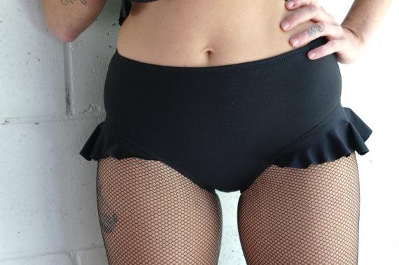 Roller Derby shorts Side Frill by frillzandspillz on Etsy, LOVE THEM!