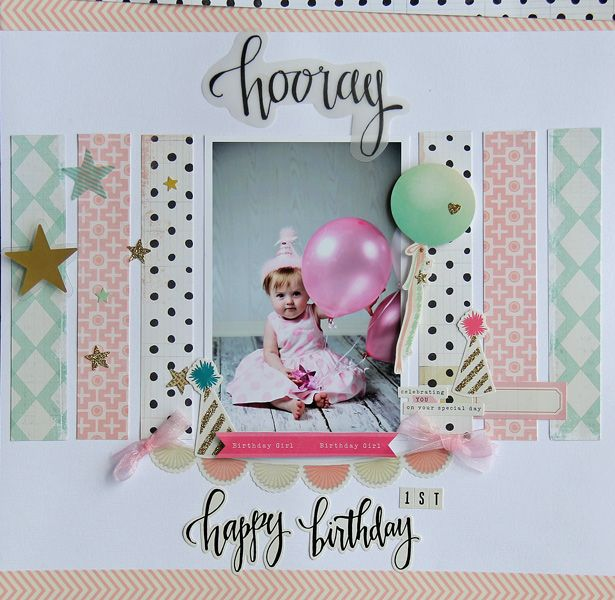Hooray! Happy Birthday *My Creative Scrapbook MAY Main Kit* - Scrapbook.com