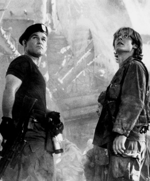 Kurt Russell & James Spader in Stargate (1994) - I have never seen the tv show, but my brother is an avid fan..