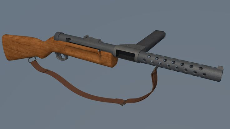 Schmeisser MP28 By: Nikolas 'Cage' Griep