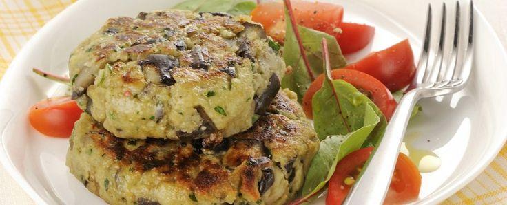 Ricetta: Hamburger di melanzane | myCukBuk