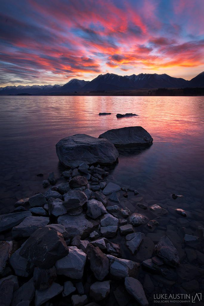 Lake Tekapo - New Zealand by Luke Austin on 500px