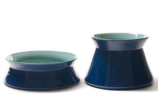 HYDRA BOWL and HYDRA+ by CaCo handmade in Portugal, Galerias Lumiere, Rua José Facão, Porto Portugal, shop online www.cacostore.com #pottery #handmade #blue #turquoise
