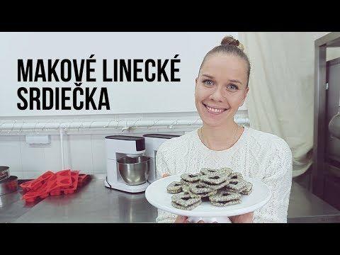 MAKOVÉ LINECKÉ SRDIEČKA | SLADKÁ ŠKOLA 15 - YouTube