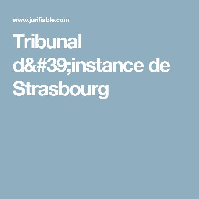 Tribunal d'instance de Strasbourg