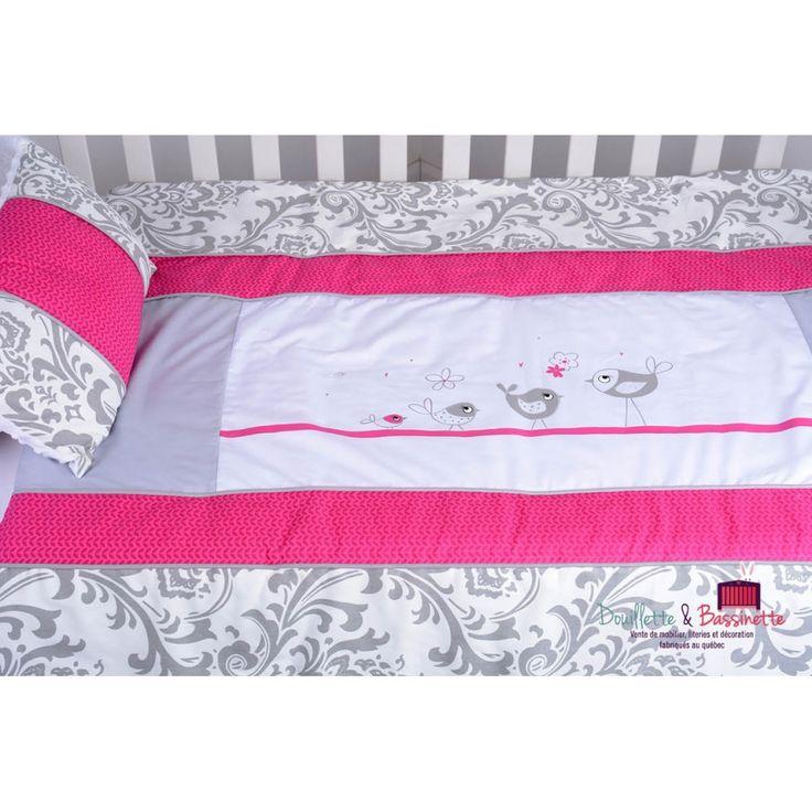 Ensemble de literie 6 morceaux: couverture,contour de lit,drap contour,jupe,oreiller d
