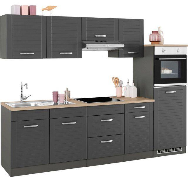 Küchenzeile Mit Elektrogeräten Und Geschirrspüler Günstig