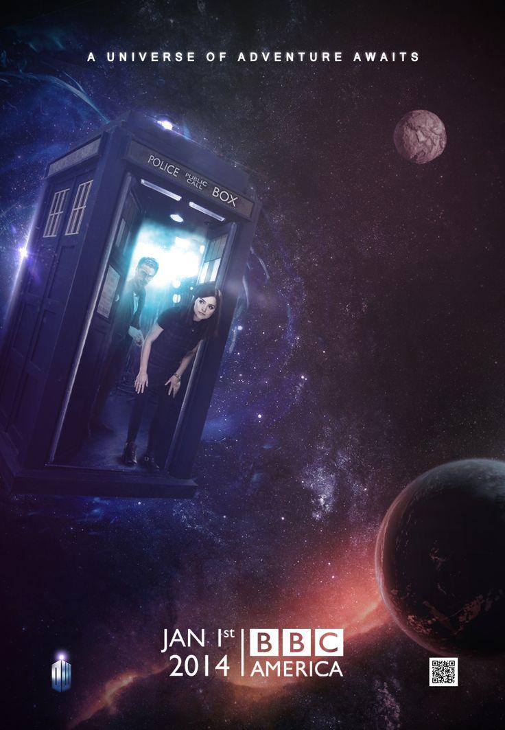 Doctor Who: Series 8 Teaser Poster by SkinnyGlasses.deviantart.com on @deviantART