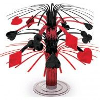 Place Your Bets Mini Cascade Centrepiece $6.95 A240095