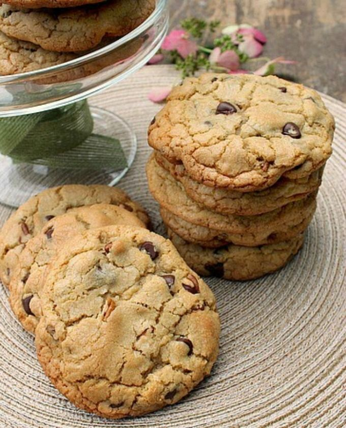 Homemade Bakery Style Chocolate Chip and Pecan Cookies that are big, thick, soft and chewy!  Oh my you're going to love this cookie…but only if you love big, thick soft and chewy cookies!  This is an amazing recipe, once you make and eat these it'll be very hard for you...Read More »