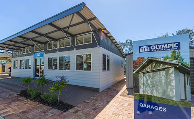Olympic Industries - Garages Carports Sheds - Adelaide
