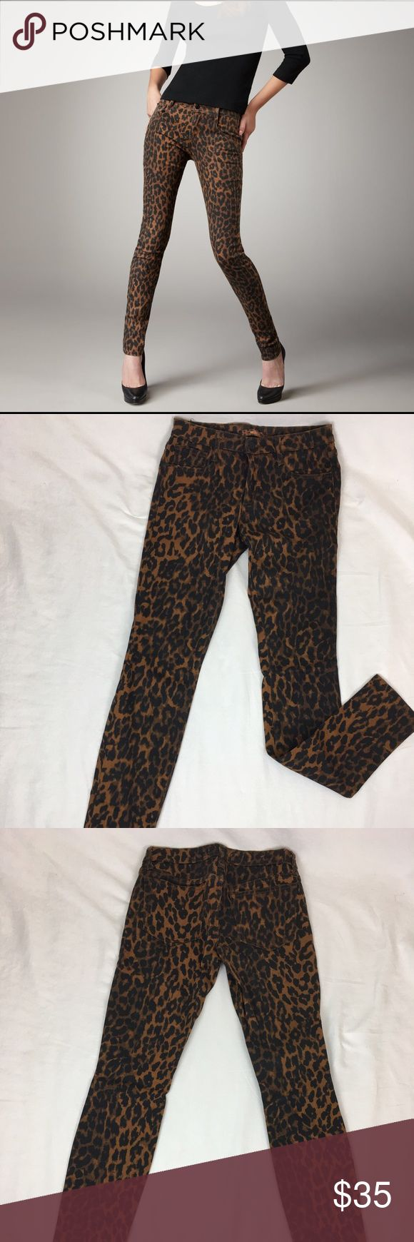 Joe's Jeans Animal Print Skinny Jeans Animal print skinny jeans from Joe's Jeans. EUC. Size 27. Joe's Jeans Jeans Skinny