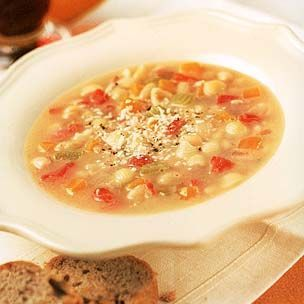 Nov 6th - Pasta e fagoli. Williams and Sonoma recipe but very basic, hearty soup. Greg got Rosemary, Olive oil & Sea Salt bread from Wegmans to go with it. Sensational