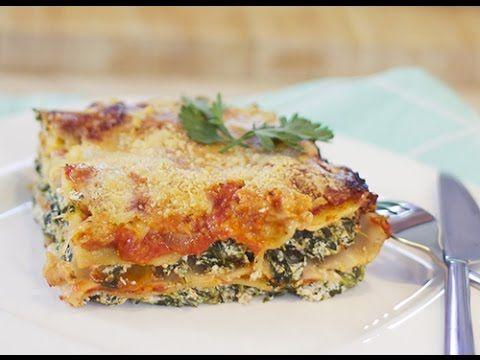 Un bon plat familial : #Lasagnes épinards ricotta