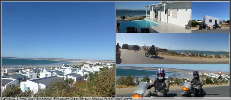 Paternoster on the last night where we take in the blue ocean and relax after a long but enjoyable 14 day #adventure #motorcycle ride