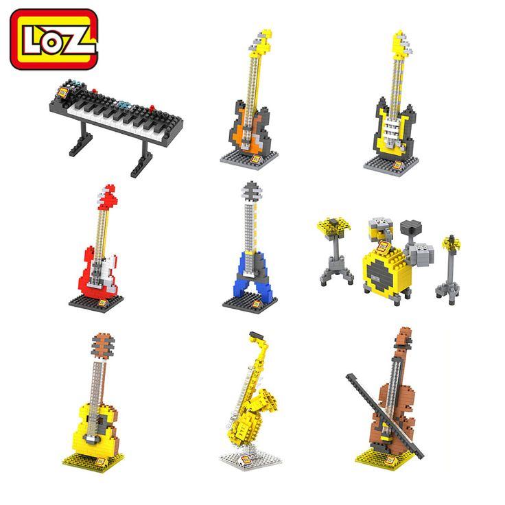$2.90 (Buy here: https://alitems.com/g/1e8d114494ebda23ff8b16525dc3e8/?i=5&ulp=https%3A%2F%2Fwww.aliexpress.com%2Fitem%2FLoz-Musical-Instruments-Series-Diamond-Building-Blocks-DIY-Toy-Kids-Children-Educational-Model%2F32367442076.html ) LOZ Musical Instruments Series Diamond Building Blocks DIY Toy Kids Children Educational Guitar Keyboard Violoncello Drum set for just $2.90