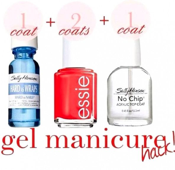 DIY manicure. Always wanted to have my own gel nails at home! Will try this soon...