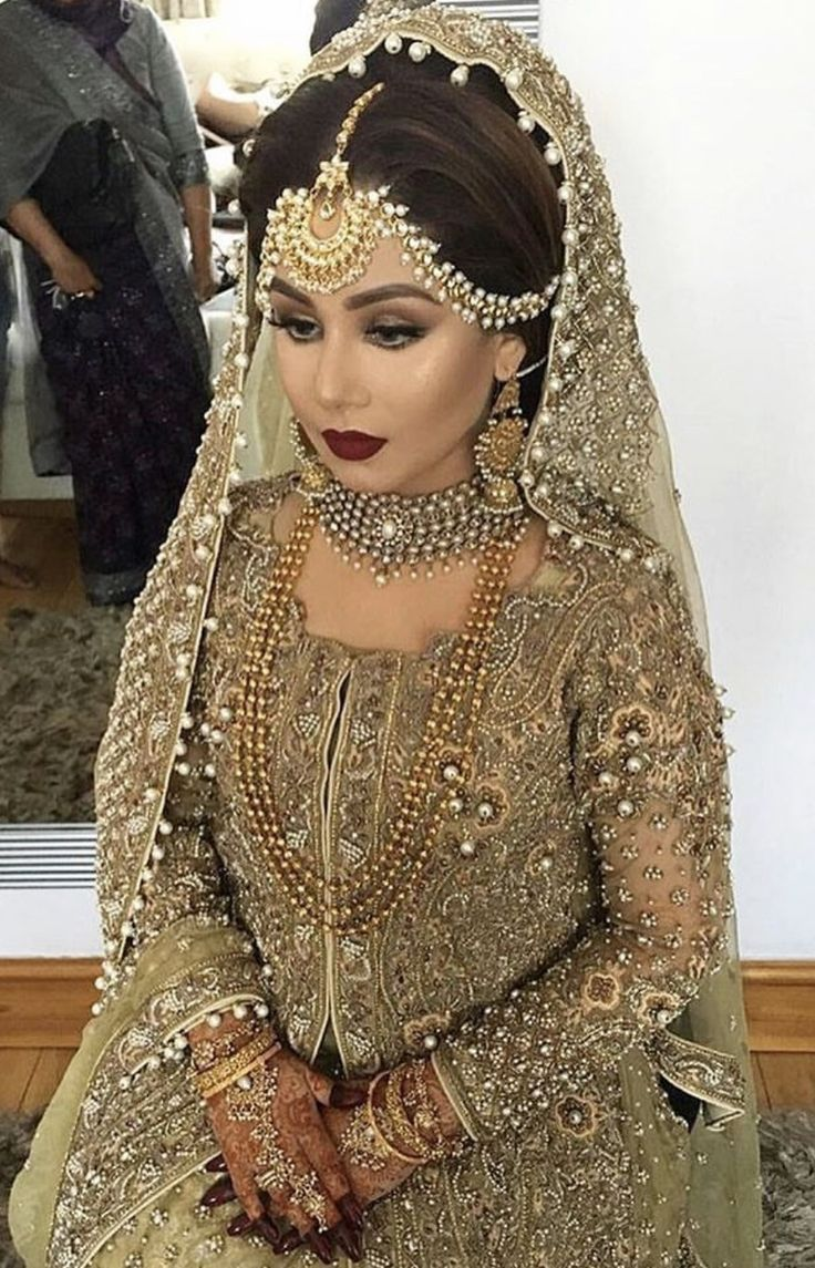 Ethnic bridal outfit