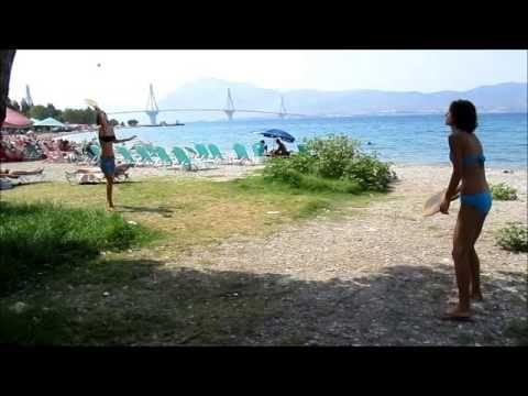 rackets sport on the beach
