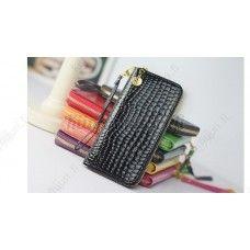 Muodikas tekonahkainen lompakko, eri värivaihtoehtoja