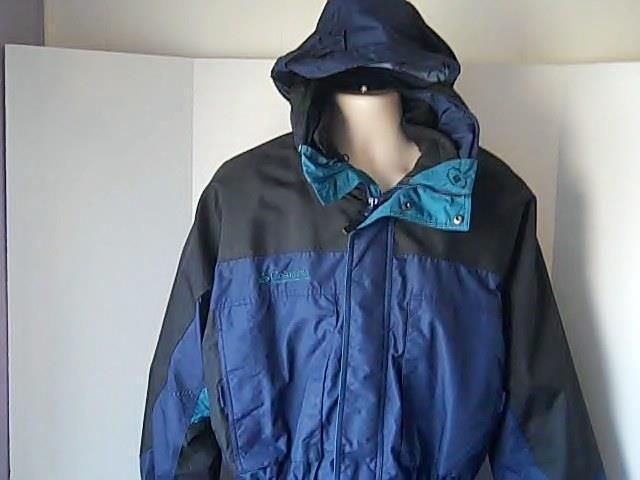 Columbia SportsWear Co  Mens XL 2 in 1  Winter Coat Lineing Comes Out #ColumbiaSportsWearCo #BasicCoat