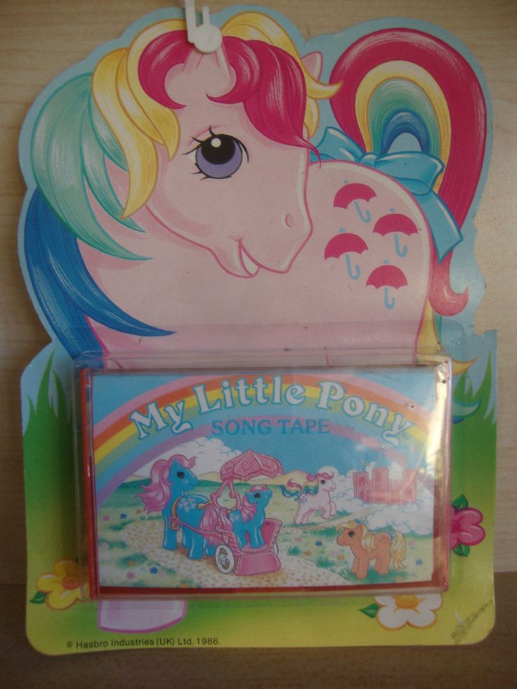 Vintage My Little Pony Song Tape Carded | eBay