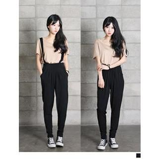 Buy 'URBAN LADY – Baggy Pants with Suspenders ' with Free International Shipping at YesStyle.com. Browse and shop for thousands of Asian fashion items from South Korea and more!