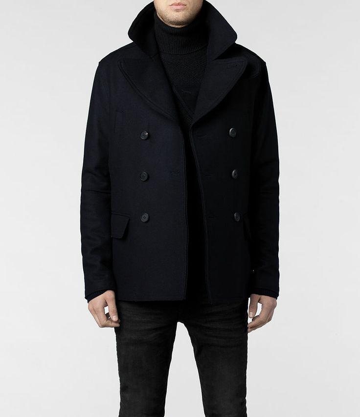 Classic pea coat.