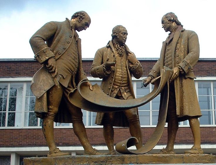 Statues around Birmingham, UK – Broad Street
