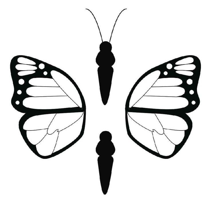 Butterfly #2 - The 3Doodler   3d drawing pen, 3d pen art, 3d printer pen