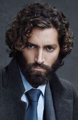 Men's Curly Hairstyles Gallery |  FashionBeans - Maximiliano Patane.                                                                                                                                                                                 More