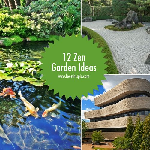 What Does A Zen Garden Do: 25 Best Images About Amazing Zen Gardens On Pinterest