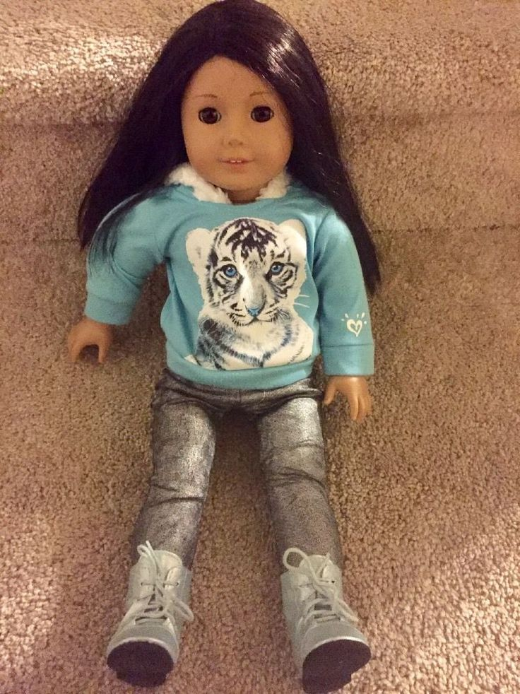 LQQK!!! American Girl Just Like You Doll Brown Eyes & Black Brown Hair!!! FOR SALE • $39.99 • See Photos! Money Back Guarantee. Good condition with minor signs of wear. Comes with full outfit and shoes. 172700643104