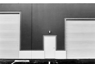 Lewis Baltz - Southwest Wall, Ware, Marlcolm, and Garner, 16722 Hale, Irvine   [New Industrial Parks] (1974)