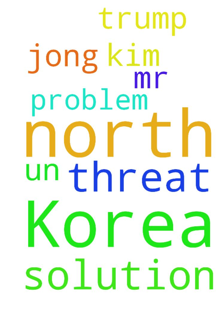 Lord I pray for a solution for North Korea threat and -  Lord I pray for a solution for North Korea threat and problem. Mr Trump and Kim jong un.  Posted at: https://prayerrequest.com/t/Rnq #pray #prayer #request #prayerrequest