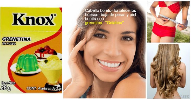 Beneficios de la grenetina o gelatina para la belleza y salud