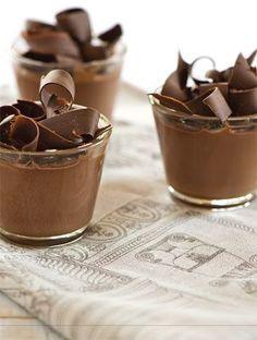 Πανακότα σοκολάτας | Γλυκά, Σοκολάτα & Μούς | Athena's Recipes