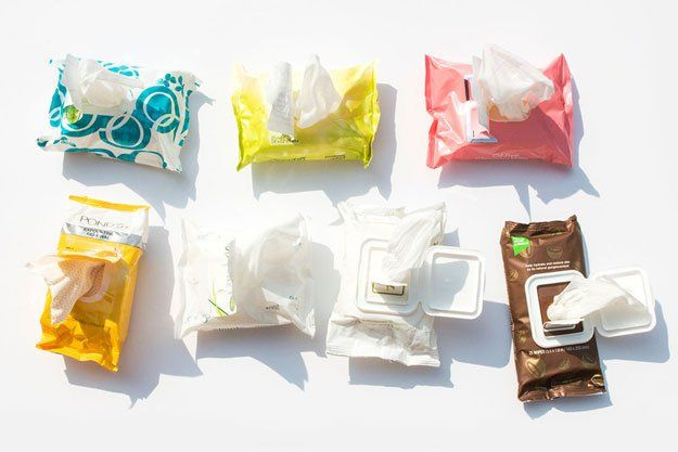 Makeup Remover Wipes | 9 Ways to Look Good While Camping, check it out at http://makeuptutorials.com/camping-tips-makeup-tutorials/