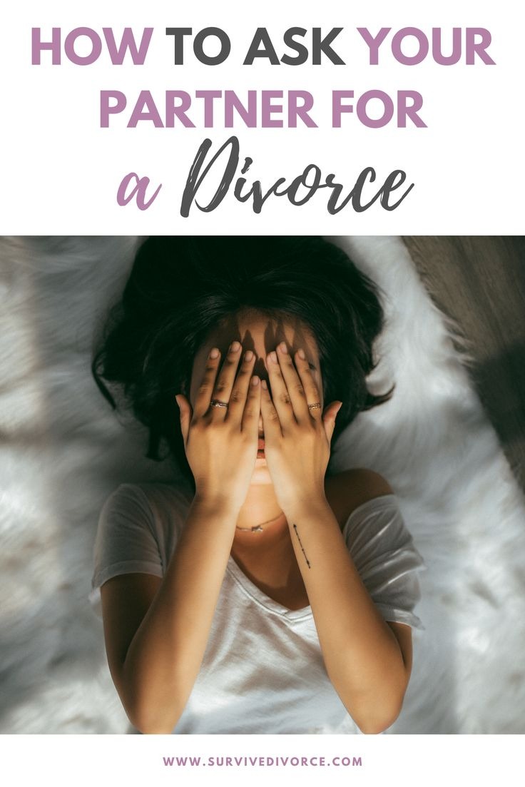 How to Ask for a Divorce (Best Way to Tell Your Spouse