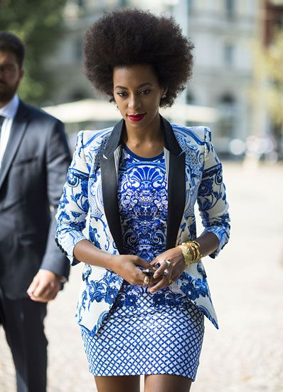 Perfect print style by Solange Knowles! #Ankara #african fashion #Africa #Clothing #Fashion #Ethnic #African #Traditional #Beautiful #Style #Beads #Gele #Kente #Ankara #Africanfashion #Nigerianfashion #Ghanaianfashion #Kenyanfashion #Burundifashion #senegalesefashion #Swahilifashion ~DK: