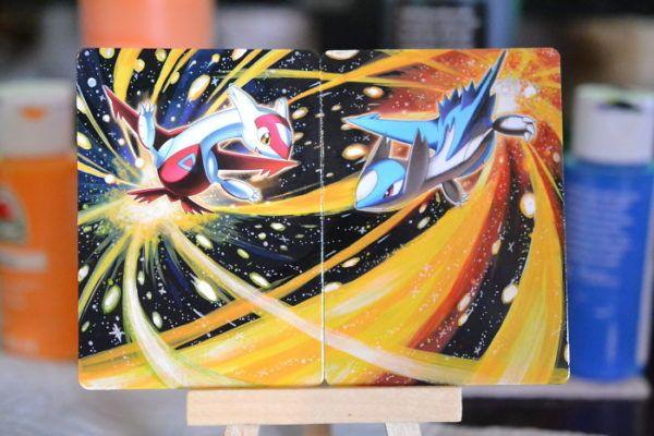 Artist Transforms Old Pokemon Cards Into Mini Masterpieces