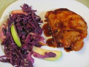 Maple glaze pork chops | Food and Treats | Pinterest