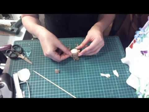 Создание кукол из фоамирана - YouTube