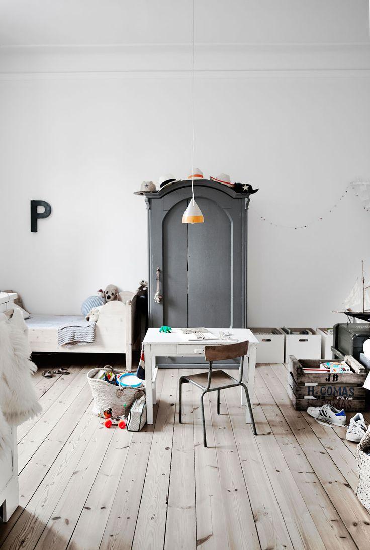 grey wardrobe