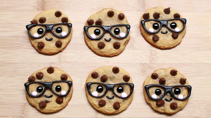 "How to make ""smart cookies,"" so cute!"
