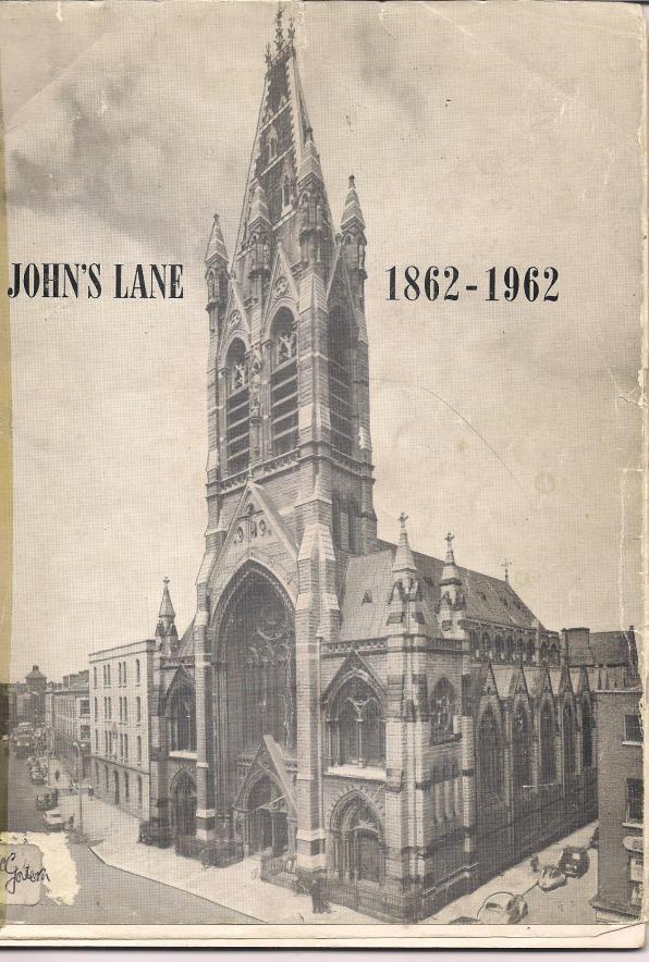 Centenary booklet for John's Lane church in Dublin.