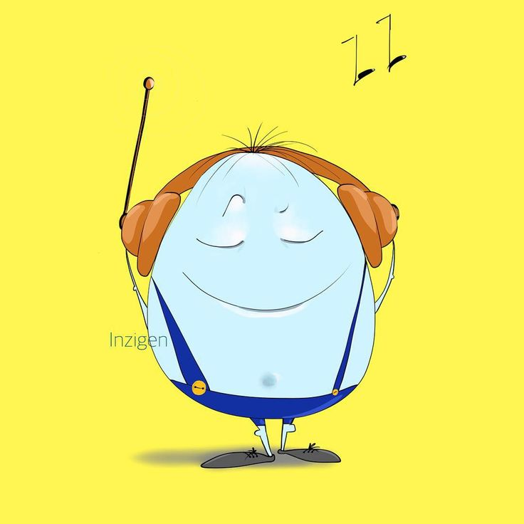 Позитивный яйцеголовый чувак - вам от меня #инзижен #inzigen #art #арт #myart #instaart #ipadart #ipaddraw #procreate #procreateapp #artist #ярисую #творчество #create #creator #позитив #cute #fun #музыка #иллюстрация #иллюстратор #illustration #illustrator